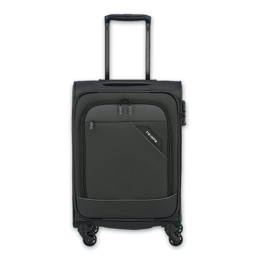 travelite DERBY Anthrazit, 4 Rollen Trolley L